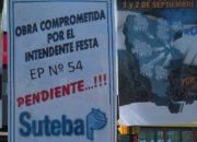 CARTEL OBRA PENDIENTE DE SUTEBA