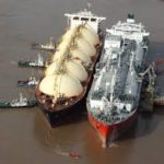 La tarifa del gas viaja en barco