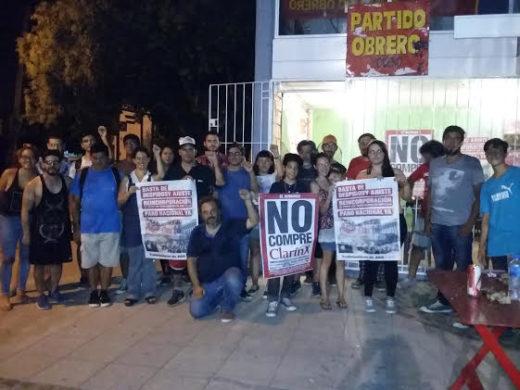 CONFERENCIA EN PARTIDO OBRERO AGR CLARIN