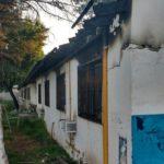 Otro incendio en la Escuela Media N° 4