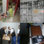 Comercio sin habilitación, material sin declarar y un Federal en la custodia