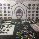 La droga en los barrios y los allanamientos al día