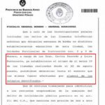 Comunicado N° 2 de la Fiscalía General Moreno – General Rodríguez