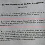 La Provincia intervino el Consejo Escolar de Moreno