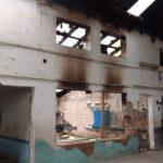 Nuevo incendio en la Escuela 27