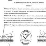 Decreto día del trabajador municipal