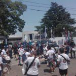 «Nos encontramos con los despidos y con la fábrica rodeada de más de cien efectivos policiales»