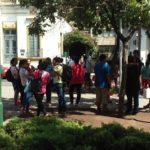 Desalojo en La Porteña y protesta en la puerta del Municipio