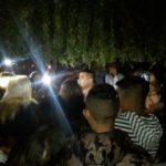 Protesta vecinal en la casa del concejal Osorio