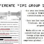 Una empresa norteamericana y dos socios de Cristóbal López en Moreno