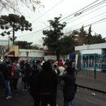 Gran protesta popular en EDENOR