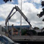 Trabajador municipal sufre un grave accidente