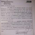 Abuso sexual simple, la imputación al concejal García