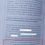 Denuncia penal contra el Juez Barcala