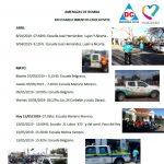Amenazas de bomba y pérdidas de gas en escuelas del distrito