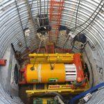 Bajada de tunelera en Ituzaingó
