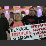 """Acampe contra Klaukol: """"Nos envenenan, nos matan y no tenemos derecho a nada"""""""