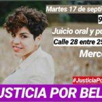 Comienza el juicio por el femicidio de Belén Peralta