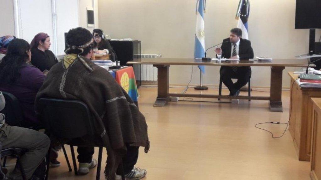 La Justicia ordenó desalojar la recuperación territorial de la comunidad Buenuleo