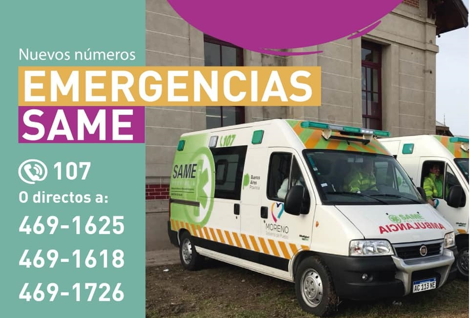 Los números para la emergencia