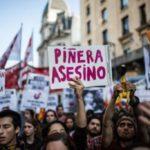Repudio a la llegada de Piñera a la Argentina