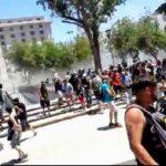Mendoza: Policía reprime la masiva marcha en defensa del agua