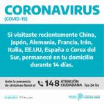 «En Moreno no hay casos de coronavirus»