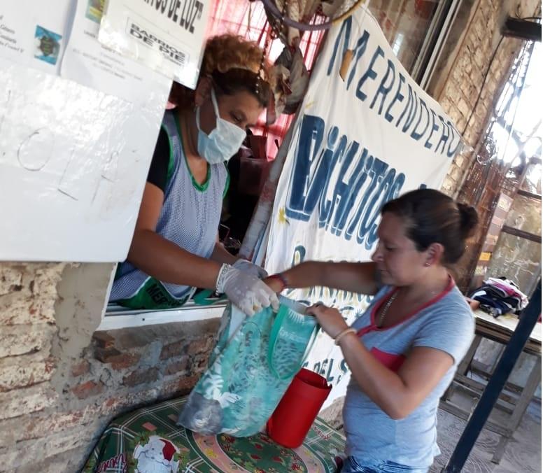 De Pie en los Barrios y con pocos alimentos