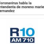 Una nota de Mariel Fernández en Radio 10 para darle una Vuelta de Rosca
