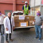 La Provincia entregó insumos al Hospital y la Maternidad Estela de Carlotto