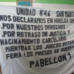 Penal de San Martín: comenzó la huelga de hambre