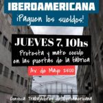 Textil Iberoamericana debe 3 meses de sueldo