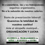 Ajuste Municipal, recorte salarial