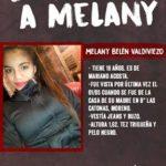 Dónde está Melany