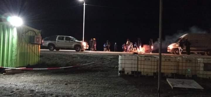 Dura represión anoche a municipales despedidos en Pico Truncado