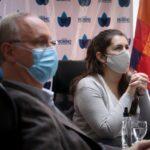 La Intendenta recibió al Ministro de Salud provincial