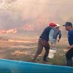 El humedal en llamas: el fuego incontrolable avanza sobre las islas del Paraná