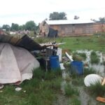«Nos tiraron en un lugar  inundable, no nos merecíamos esto»