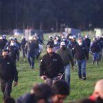 URGENTE: Comenzó el operativo de desalojo y represión en Guernica