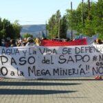 Chubut: la meseta marchó a favor de la Iniciativa Popular y en contra de la zonificación minera