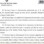 Asociación ilícita, causa títulos truchos, elevación a juicio