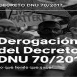 Discurso y realidad: Decreto 70 y persecución de migrantes pobres